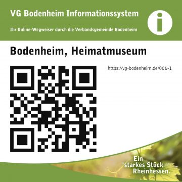 Abbildung QR-Code Heimatmuseum Bodenheim